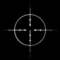 Gun crosshairs
